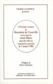 L'Héroïque Aventure d'Henriette de Tourville sur la cime du mont Blanc