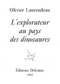 L'explorateur au pays des dinosaures